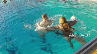 Download Advanced water survival training Video