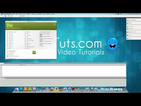 Dreamweaver Tutorial: How to Convert a .PSD to .HTML (Part 1)