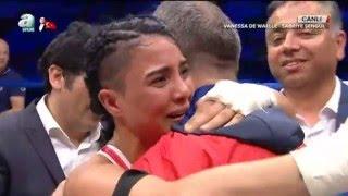 Sabriye Şengül Belçikalı Wenessa Da Waelle karşısında! World Kick Boks Champions Night