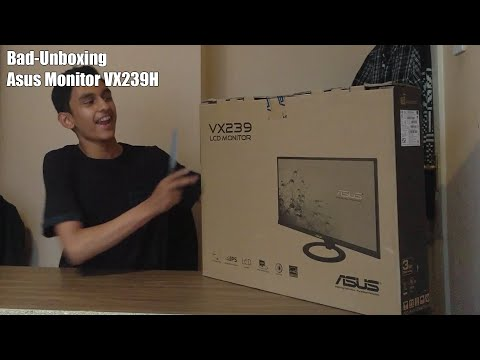 Bad Unboxing - Asus Monitor VX239H