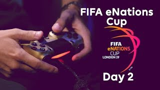 LIVE! FIFA eNations Cup   Day 2, Knockout Stages & Finals!
