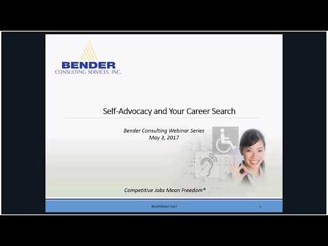 Bender Summer Webinar Series: Building Your Personal Brand for an Effective Career Search