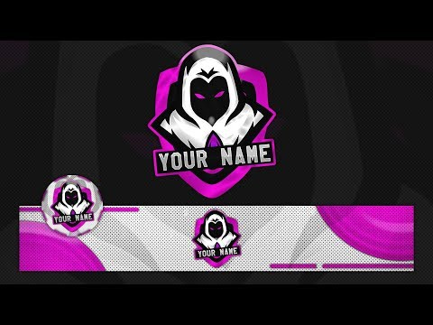 FREE Ghost GAMİNG LOGO w/Banner Template 2018