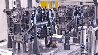 AUDI 4-Cylinder ENGINE Production