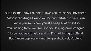 J. Cole - FRIENDS (Lyrics)