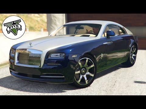 Grand Theft Auto V - Rolls Royce Wraith Test HD 1080p