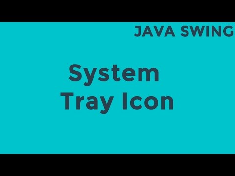 Java Swing System Tray Icon