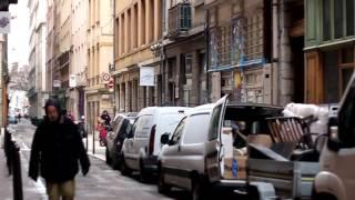 Ballade dans les rues des pentes de la Croix-Rousse