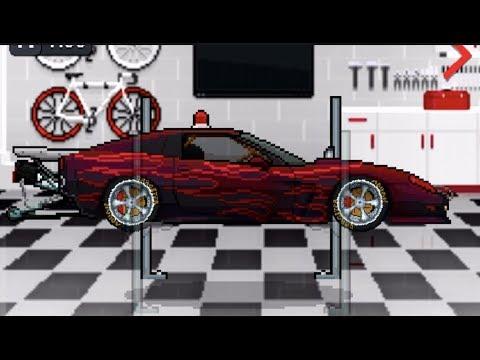 Download Pixel Car Racer - FIRST 3700hp C6 Corvette Top