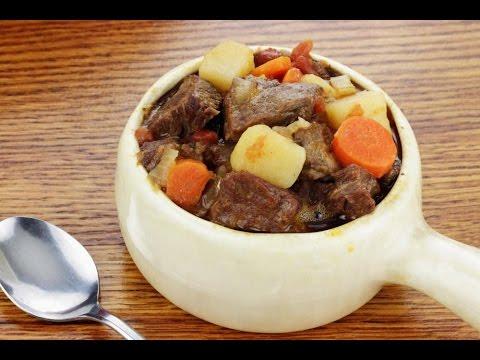 Beef stew recipe stove top pot