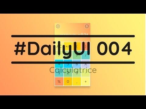 #DailyUI 004 - Casser les codes