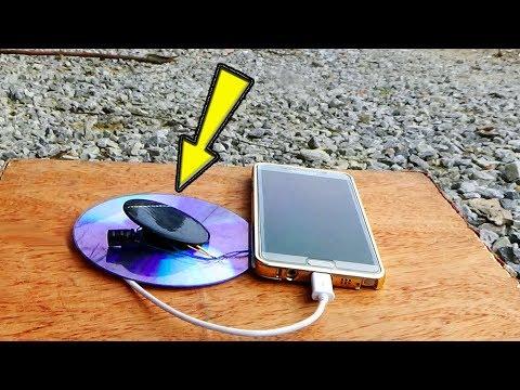 Free Energy MobilePhone Charger [using solar energy]