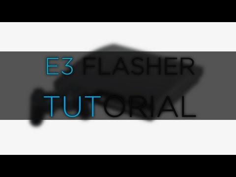 E3 Flasher Downgrade 4.80 To 3.55 + SERVICE