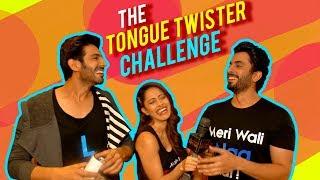 Kartik Aaryan, Nushrat Bharucha, Sunny Singh Play Tongue Twister Challenge| Sonu Ke Titu Ki Sweety
