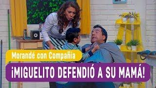 ¡Miguelito defendió a su mamá! - Morandé con Compañía 2018
