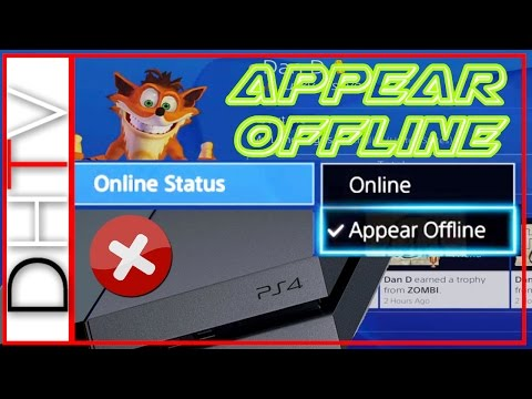 How To Appear Offline PS4 (Playstation 4)