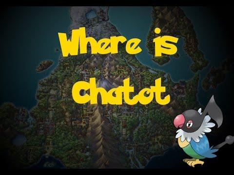 Where Is: Chatot (Trade Pokemon) (Pokemon Diamond/Pearl)