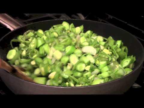 Sauteed Mediterranean Green Fava Beans by Dede's Mediterranean Kitchen!!! DedeMed