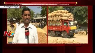 కర్నూల్ జిల్లాలో వేరుశనగ రైతుల కష్టాలు    గోడౌన్లు, లారీల కొరతతో కొనుగోళ్ల నిలిపివేత    NTV