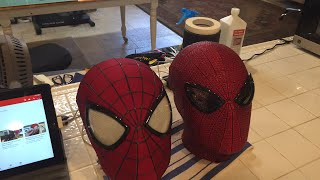 Made by McLean Live- Vacuforming Spider-Man Faceshells