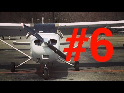 Flight Vlog #6   New York to Connecticut   ATC audio