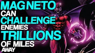 Wiki Weekends | Magneto Can Challenge Enemies Trillions Of Miles Away