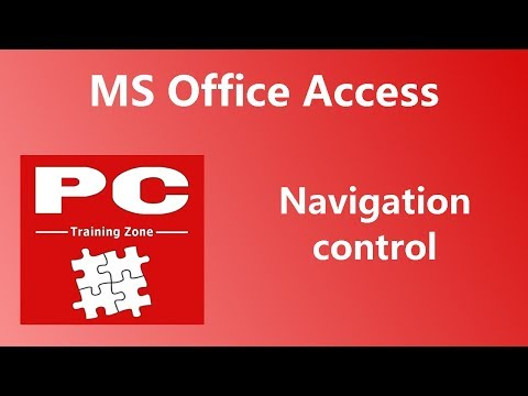 MS Office Access - Navigation Control