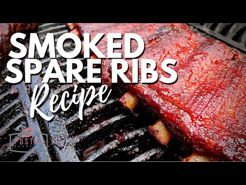 Smoked Spare Ribs Recipe  - How to Smoke Spare Ribs on the BBQ