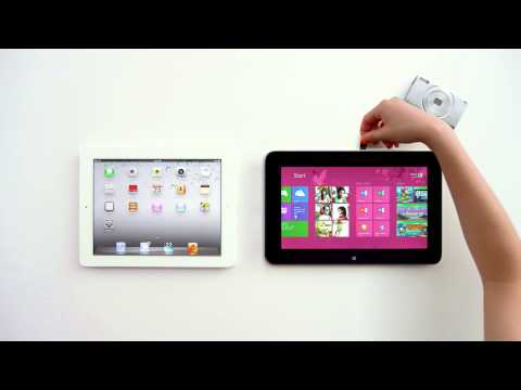 Microsoft Tablet vs  iPad commercial