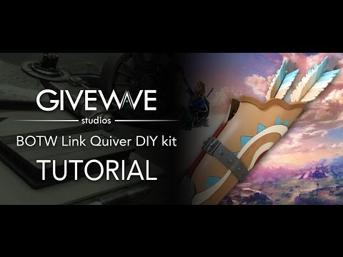Link's Breath of the Wild Quiver cosplay DIY Kit Tutorial