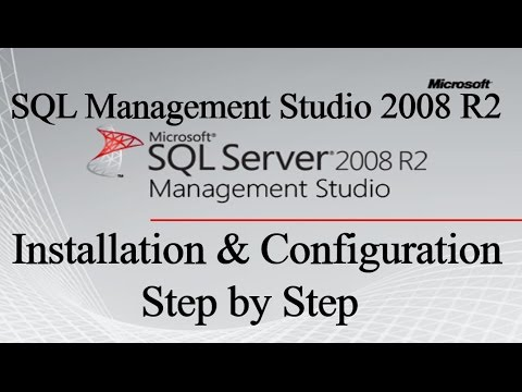 SQL Management Studio 2008 R2 Installation Step by Step