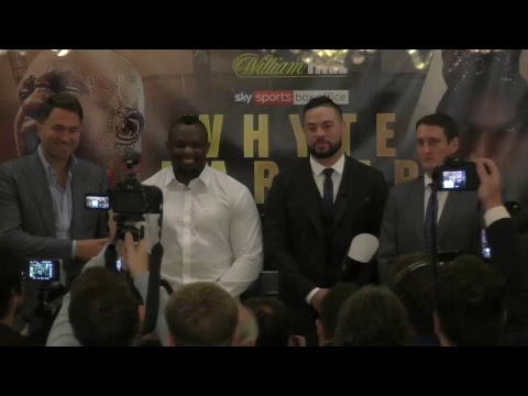 Dillian Whyte v Joseph Parker - Fight launch press conference