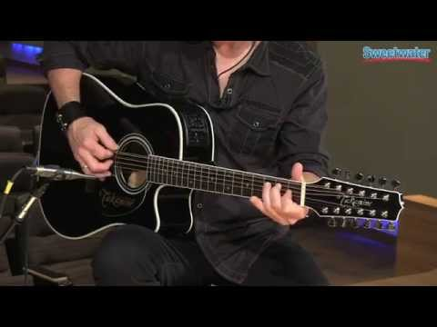 Takamine EF381SC 12-string Acoustic-electric Guitar Demo - Sweetwater Sound