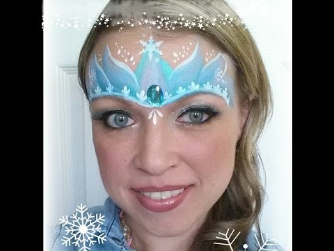 Elsa/ Frozen inspired princess crown tutorial