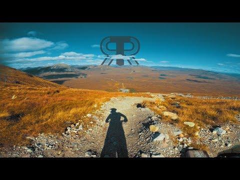 GLENCOE BLACK DH RUN ON AN ENDURO BIKE | MTB Scotland | Reluctant Road Trip Finale