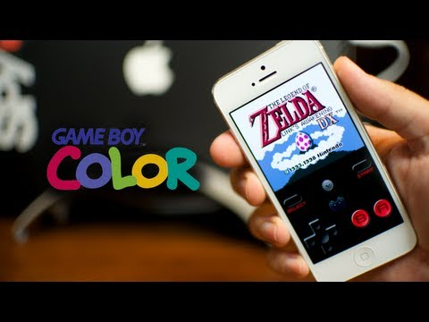 RetroArch - Game Boy Color For iPhone iPod Touch & iPad (Ep. 2) GameBoy ROMs and Setup