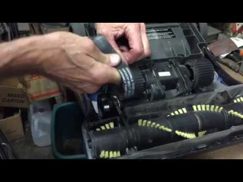 How to change a Hoover Windtunnel vacuum belt