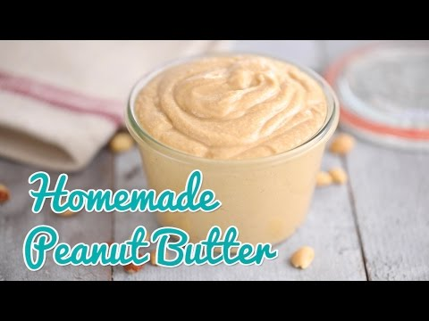 How to Make Homemade Peanut Butter - Gemma's Bold Baking Basics Ep 23