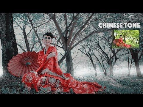 Dramatic Vintage Tutorial Chinese Style | Adobe Photoshop CC