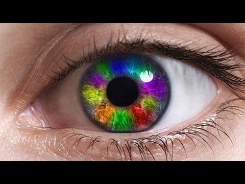 Photoshop Tutorial: Create Rainbow Eyes in Photoshop