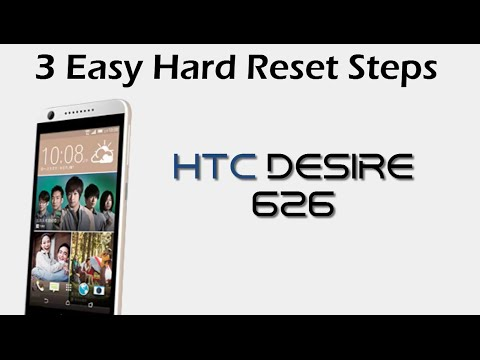 HTC Desire 626: Hard/Master Reset - Password Recovery