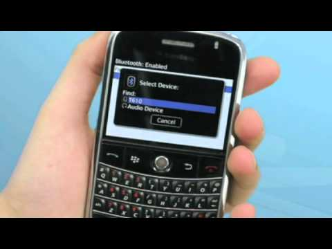 Telecom New Zealand BlackBerry Bold Tutorial Video