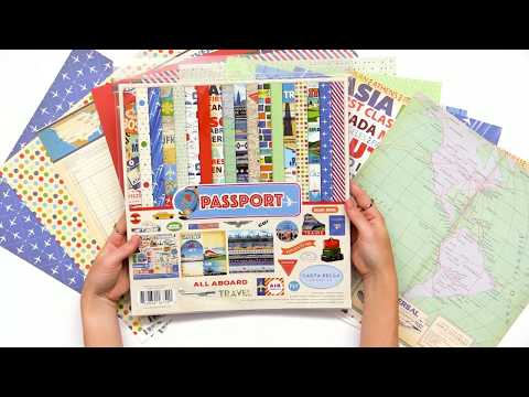 Passport Collection by Carta Bella Paper Co