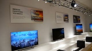 Sony Launch 2016 XD94, XD93, XD85 and SD85 4K UHD HDR TVs