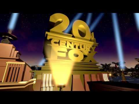 Custom of the 20th Century Fox 2009 logo in Blender