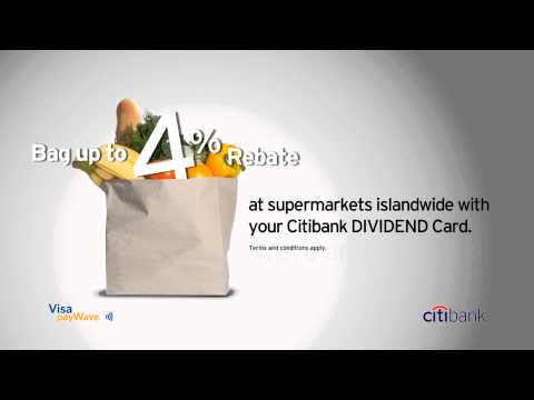 Citibank Credit Card Tap and Save
