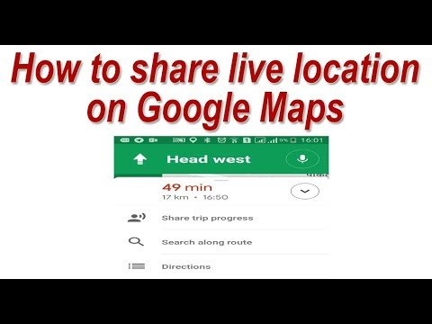 How to share live location and ETA on Google Maps