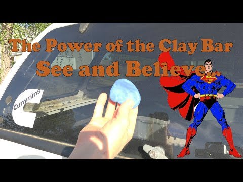 The power of the clay bar