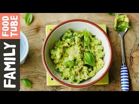 Chicken, Avocado & Basil Baby Food | Michela Chiappa