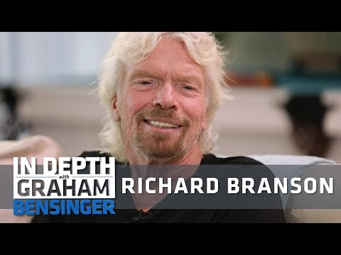 Richard Branson: Feature Interview Preview